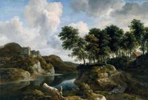 Jacob van Ruisdael (c. 1629 - 1682) / Dutch Art.