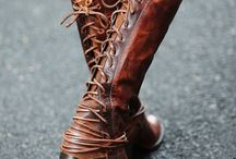 These boots are made for walking.