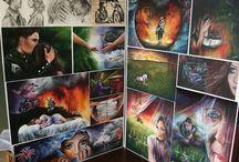 ncea art board