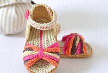 Chrochet baby sandles
