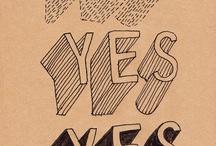 sketchnote typografie
