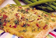 Something FISHY is going on here ... fish/seafood recipes / by Debbie Wallace