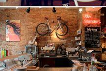 Coffee bike shop