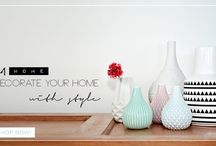 eM HOME style / Decorating interior is one of our favourite things.