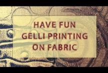 Gelli ideas