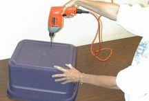 Makk box (worm bin)
