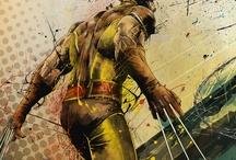 Marvel - Heróis e Vilões / Stan Lee e seus personagens.