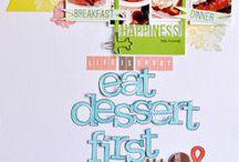 Scrappy food, dessert, etc...