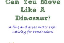 Dinosaurs for Preschoolers / by Kathryn Rudolph