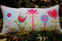 Applique Pillows