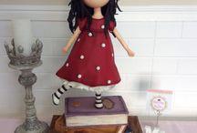 Bánh bé gái 3d