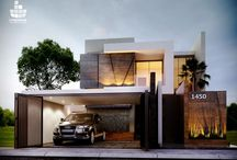 Modern façades
