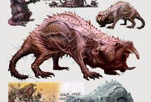 concept art monster