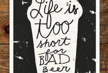 Beer / Nice when it's good!