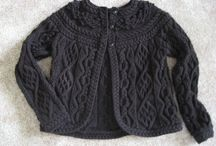 Knitted Cablework / Beautiful pieces featuring cables
