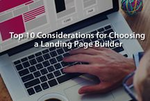 Landing Pages / Beautiful landing page designs and easy to use templates. Access them in our simple landing page builder tool which links automatically to the all the data and analytics available in Vbout.   https://www.vbout.com/features/email-marketing/#Landing_Pages