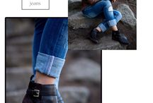 Black Ankle Boots / by Cindy Tran