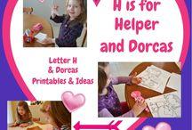 Letter H ideas