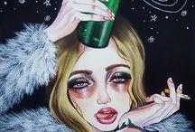 пьяный тамблер