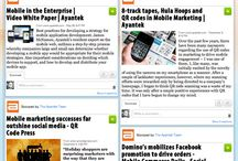 Visual bookmarking / Show favourite websites.