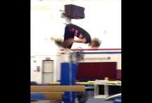 Gymnastics beam