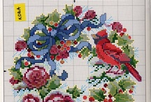 Cross stitching / by Vicki Hiser