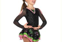 Girls Competition Ice Skating Dresses