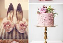 Pink Weddings | Weddings / by Serendipity Weddings & Nails