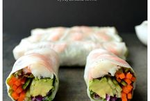 Shrimp Rolls w Rice Paper