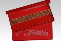 ChocoTelegram / Envia un mensaje personalizado en una forma absolutamente única - en el chocolate.