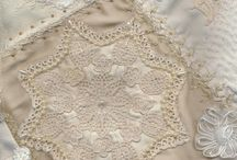 lace and doily quilts