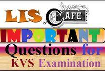 Important for KVS Librarian Examination