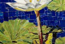 mosaics and art