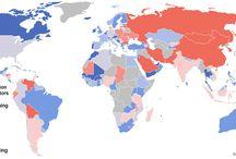 Maps | Politics & sociology