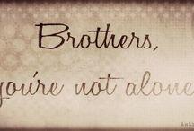 Broters, you're not alone, EFP, FF / Supernatural, drawing, GIF, EFP, FF, FA