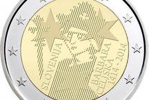 Monedas 2 euros Eslovenia