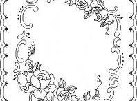 Outlines floral