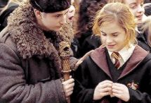 Krum and Hermione