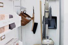broom cupboards