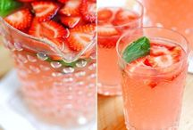 Refreshing Beverages / Use fruit, herbs and veggies to create refreshing and delicious beverages
