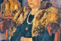 Портреты Анны Ахматовой / Анна Андреевна Ахматова в живописи