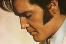 THE King of Rock and Roll / Elvis Aaron Presley - The Man. The Legend. THE King of Rock and Roll. / by Steve Gamba