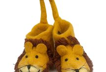 More Adorable Slipper Friends! / Award winning handmade slippers supporting Tusk.org on every sale - keep it wild!!