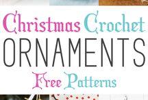 crochet - snowflakes & X-mas