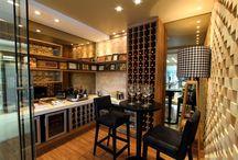 Cozinha bar adegua