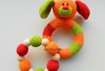 Brinquedos chocalhos