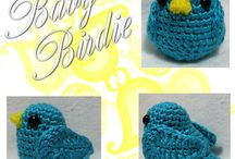 Amigurumi - baby bird