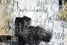 Calligraphic / Calligraphy-based art work