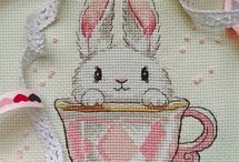 Easter cross stitch