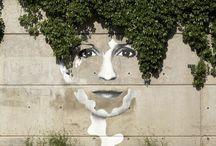 Vegetal & Street Art / Quand la rue se met au vert...